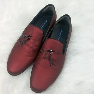 Giorgio Brutini Loafers size 9M Beautiful red in c